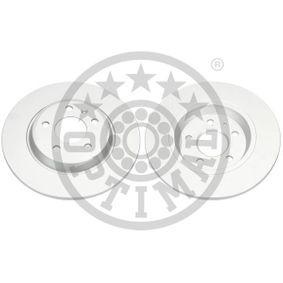 Bremsscheibe Bremsscheibendicke: 12mm, Ø: 300mm mit OEM-Nummer 8K0 615 601M