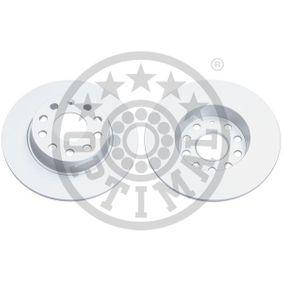Bremsscheibe Bremsscheibendicke: 10mm, Ø: 272mm mit OEM-Nummer 1K0615601AA