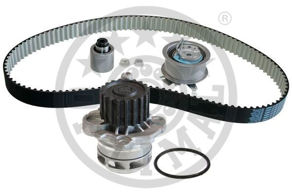 OPTIMAL  SK-1372AQ3 Wasserpumpe + Zahnriemensatz Breite: 30mm