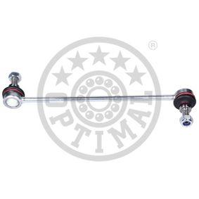 Koppelstange Länge: 251mm mit OEM-Nummer 8V51 3B438 BA