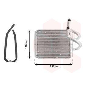 Wärmetauscher, Innenraumheizung Art. Nr. 83006170 120,00€