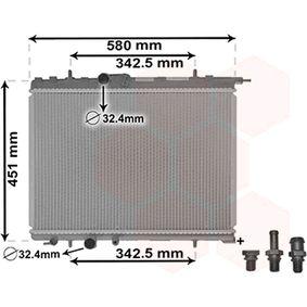Radiador, refrigeración del motor Número de artículo 40002001 120,00€