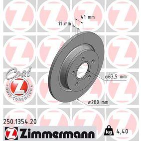 Bremsscheibe Art. Nr. 250.1354.20 120,00€