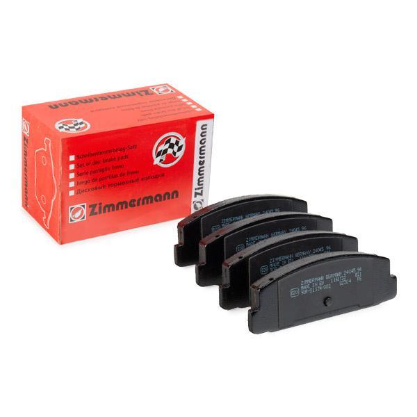 ZIMMERMANN  24045.130.1 Bremsbelagsatz, Scheibenbremse Breite: 108mm, Höhe: 39mm, Dicke/Stärke: 13mm
