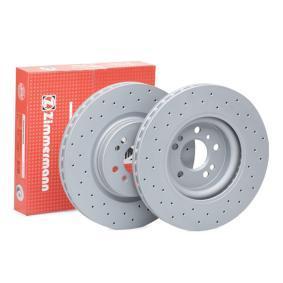 ZIMMERMANN SPORT COAT Z 400.3648.52 Спирачен диск Ø: 330мм