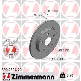 Bremsscheibe Art. Nr. 590.2804.20 120,00€