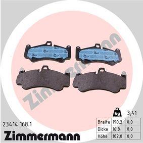 Bremsbelagsatz, Scheibenbremse Art. Nr. 23414.168.1 120,00€
