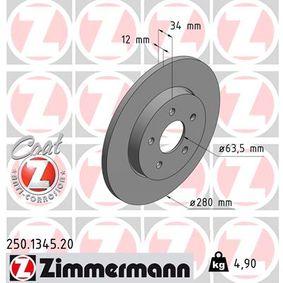 Bremsscheibe Art. Nr. 250.1345.20 120,00€