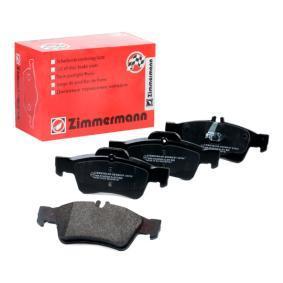 Brake Pad Set, disc brake 23334.165.1 E-Class Saloon (W212) E 500 4.7 4-matic (212.091) MY 2014