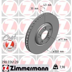 Brake Disc Article № 290.2261.20 £ 140,00