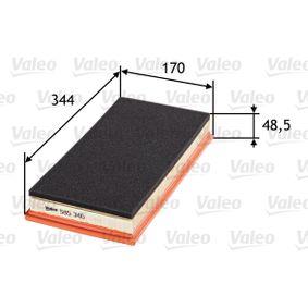 Sensor de Presión de Aceite JEEP CHEROKEE (XJ) 2.5 de Año 10.1990 121 CV: Filtro de aire (585346) para de VALEO