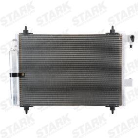 Kondensator, Klimaanlage Netzmaße: 560 x 361 x 16 mm, 560-361-16 mit OEM-Nummer 6455CP