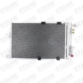 Kondensator, Klimaanlage Netzmaße: 575 x 377 x 16 mm mit OEM-Nummer 24 43 1901