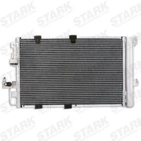 Kondensator, Klimaanlage Netzmaße: 593 x 357 x 16 mm mit OEM-Nummer 24 43 1901