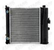 STARK Radiador refrigeración del motor MERCEDES-BENZ Aluminio, Aletas refrigeración soldadas, sin bastidor