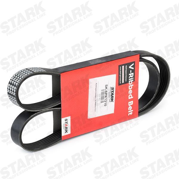 STARK  SK-6PK1210 Keilrippenriemen Länge: 1210mm, Rippenanzahl: 6