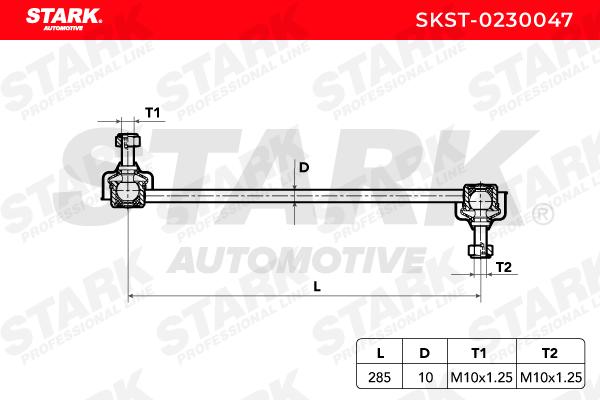 Barra estabilizadora STARK SKST-0230047 evaluación