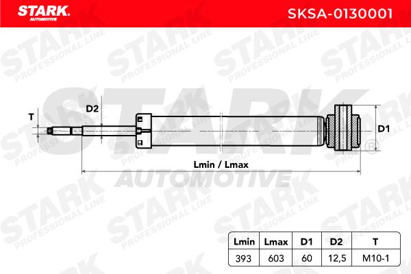Stoßdämpfer Satz STARK SKSA-0130001 Bewertung