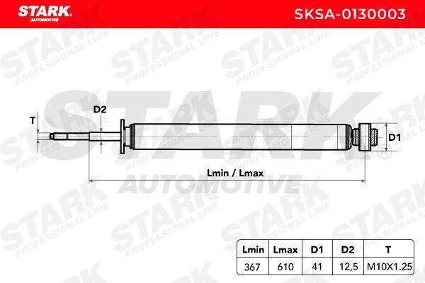 Stoßdämpfer Satz STARK SKSA-0130003 Bewertung