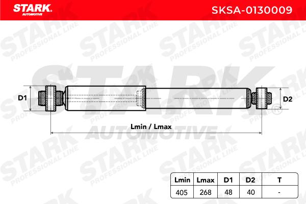 Stoßdämpfer Satz STARK SKSA-0130009 Bewertung