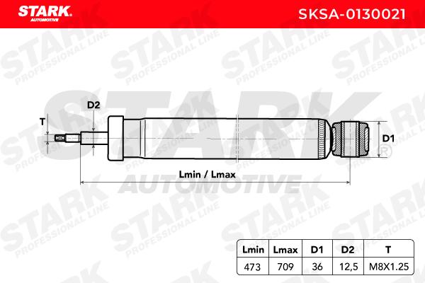 Stoßdämpfer STARK SKSA-0130021 Erfahrung