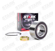 Axle shaft bearing STARK 7587865 Front axle both sides, with integrated magnetic sensor ring
