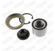 Axle shaft bearing STARK 7587874 Rear Axle left and right, with lock ring, with nut