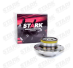 Axle shaft bearing STARK 7587881 Rear Axle left and right, with integrated magnetic sensor ring