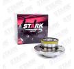 Rodamiento de rueda STARK 7587881 eje trasero ambos lados, con anillo sensor magnético incorporado