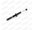 Amortiguador STARK 7588062 Eje trasero, Bitubular, Presión de gas, Amortiguador telescópico, Anillo inferior, Espiga arriba