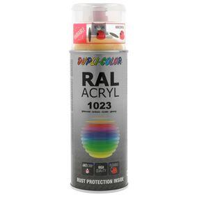 DUPLI COLOR RAL-боя (немски стандарт за цветове) 522956