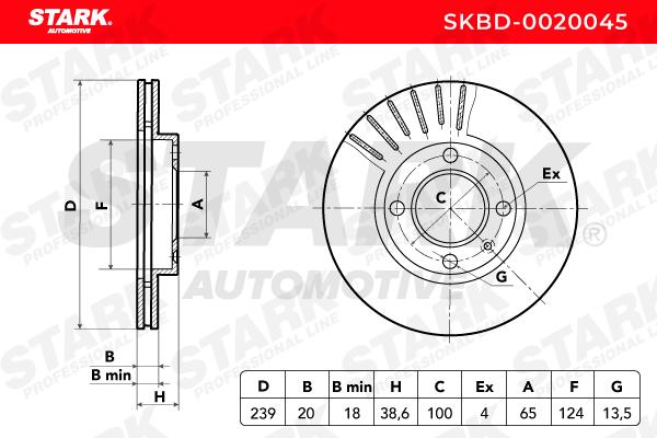 STARK SKBD-0020045 EAN:4059191031900 Shop