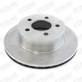 Sensor de Presión de Aceite JEEP CHEROKEE (XJ) 2.5 de Año 10.1990 121 CV: Disco de freno (SKBD-0020119) para de STARK