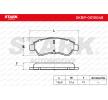 OEM Bremsbelagsatz, Scheibenbremse SKBP-0010048 von STARK