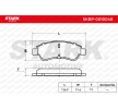 OEM Brake Pad Set, disc brake SKBP-0010048 from STARK