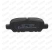 OEM Комплект спирачно феродо, дискови спирачки SKBP-0010053 от STARK