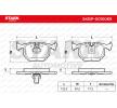 OEM Bremsbelagsatz, Scheibenbremse SKBP-0010069 von STARK