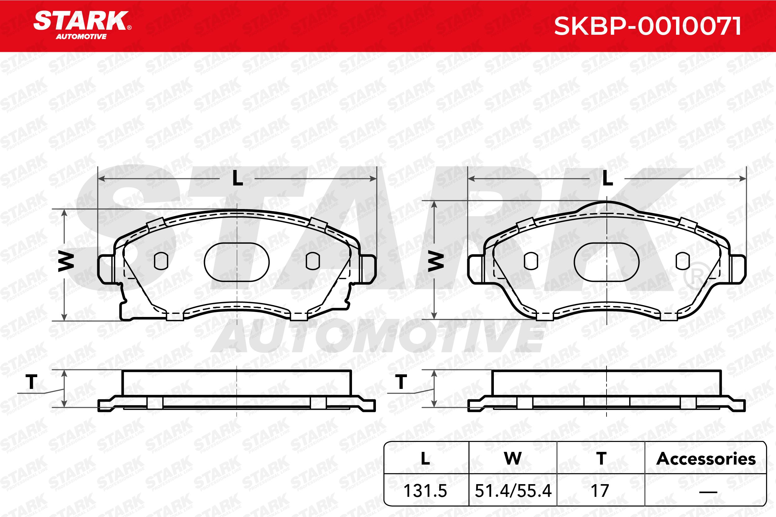 Bremsklötze STARK SKBP-0010071 Erfahrung