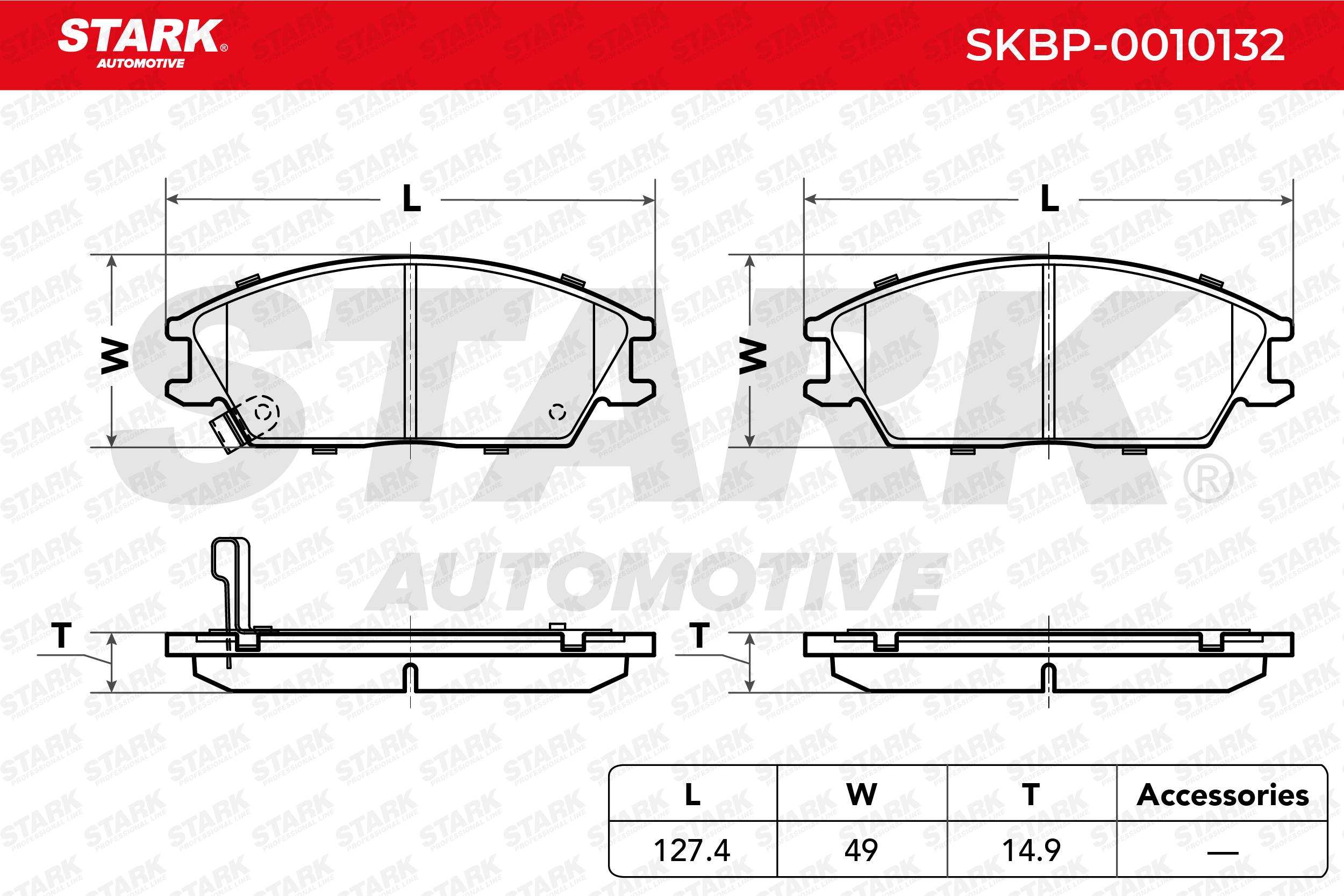 Bremsklötze STARK SKBP-0010132 4059191033140
