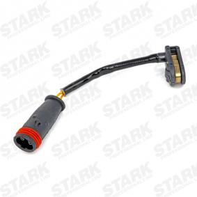Warnkontakt, Bremsbelagverschleiß Länge: 103mm mit OEM-Nummer A 9065401417
