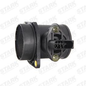 STARK Luftmassenmesser SKAS-0150008 für AUDI A4 (8E2, B6) 1.9 TDI ab Baujahr 11.2000, 130 PS