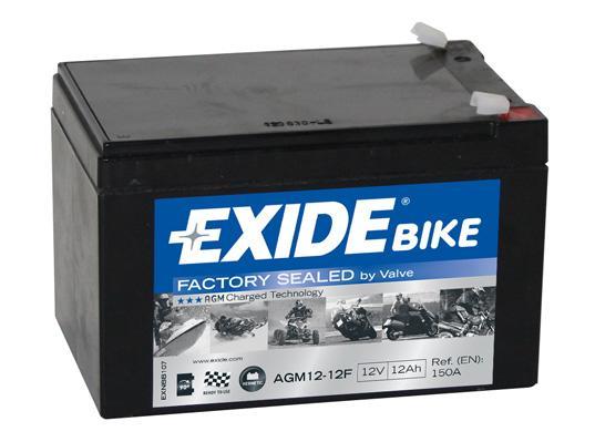 Starterbatterie AGM12-12F EXIDE AGM12-12F in Original Qualität