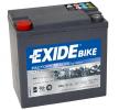 EXIDE GEL 14Ah, 12V, 150A, B0, Gel-Batterie GEL1214