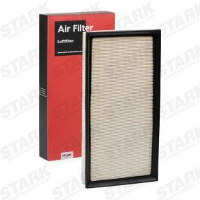 Luftfilter Länge: 364mm, Breite: 184,5mm, Höhe: 50,1mm, Länge: 364mm mit OEM-Nummer 10005004