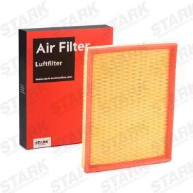 Въздушен филтър дължина: 294мм, ширина: 234мм с ОЕМ-номер 90 531 003