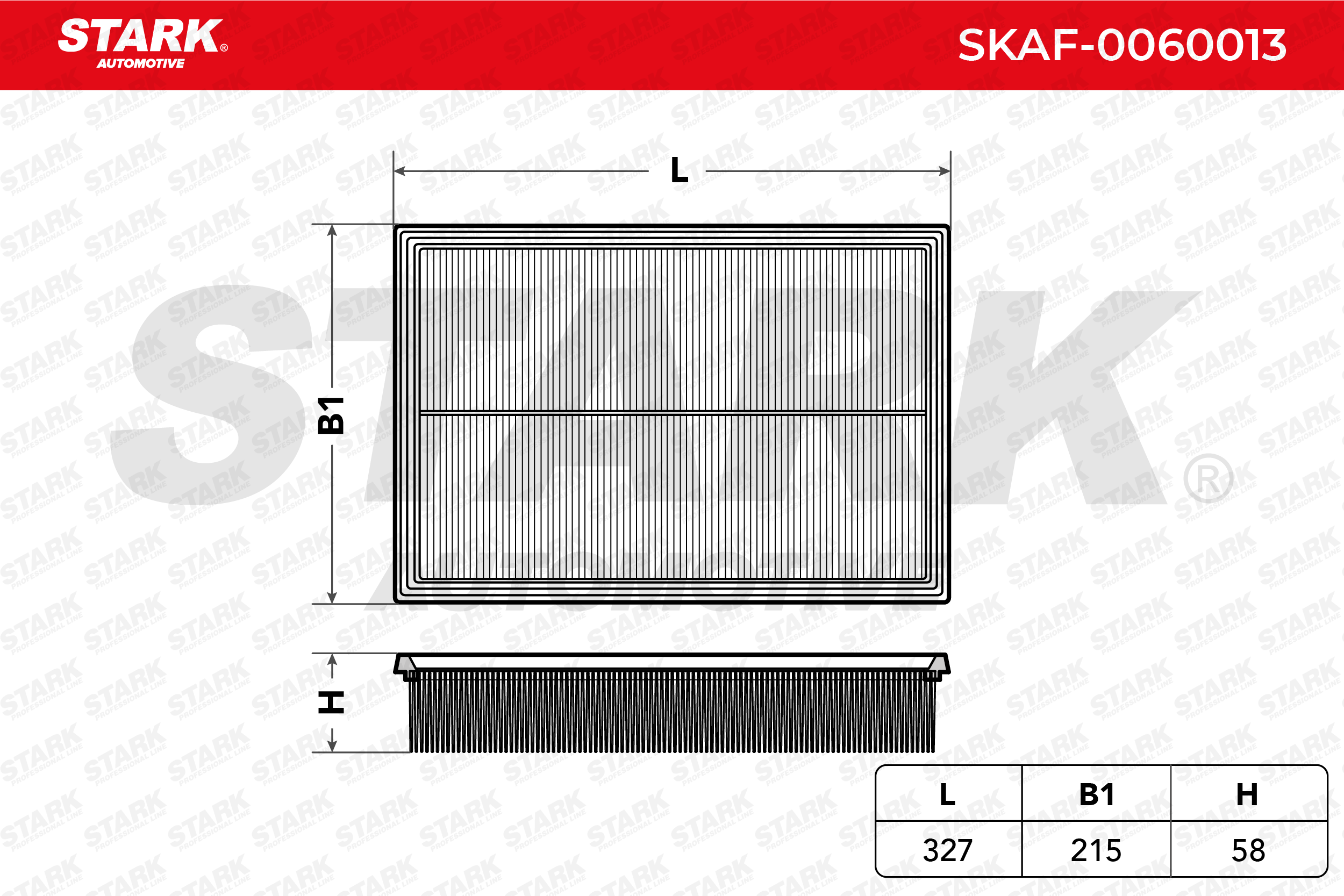 Article № SKAF-0060013 STARK prices