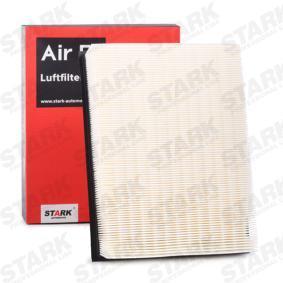 Luftfilter Länge: 279mm, Breite: 218mm, Höhe: 58mm mit OEM-Nummer 074129620