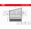 STARK SKAF0060032 Filtro de aire