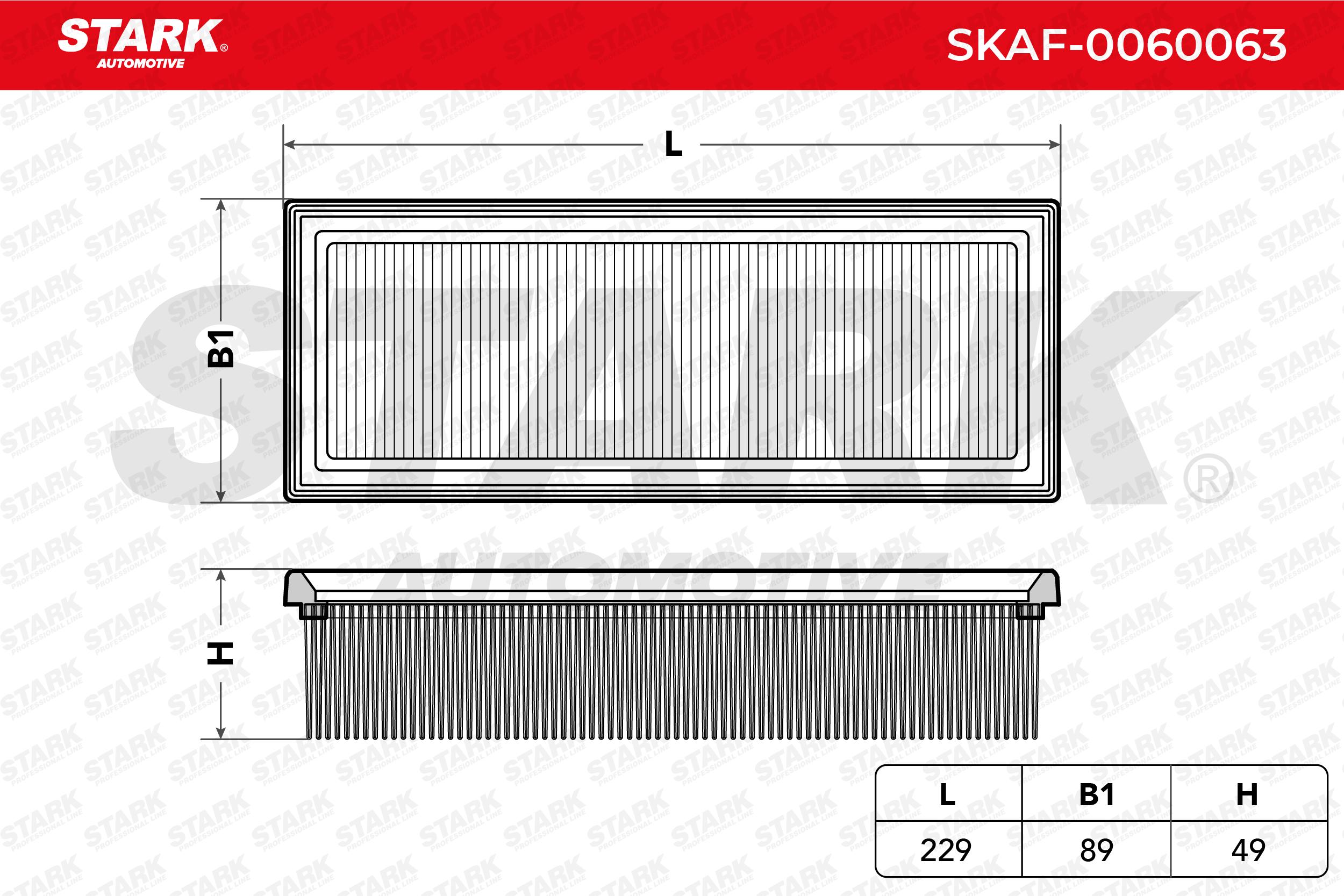 Filter STARK SKAF-0060063 Erfahrung