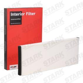 STARK Filter, Innenraumluft SKIF-0170007 für AUDI COUPE (89, 8B) 2.3 quattro ab Baujahr 05.1990, 134 PS